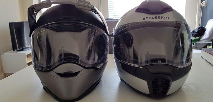 Schuberth en Shoei