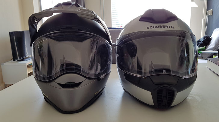 Schuberth en Shoei