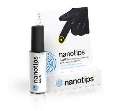 nanotips voor motorhandschoenen en smartphones