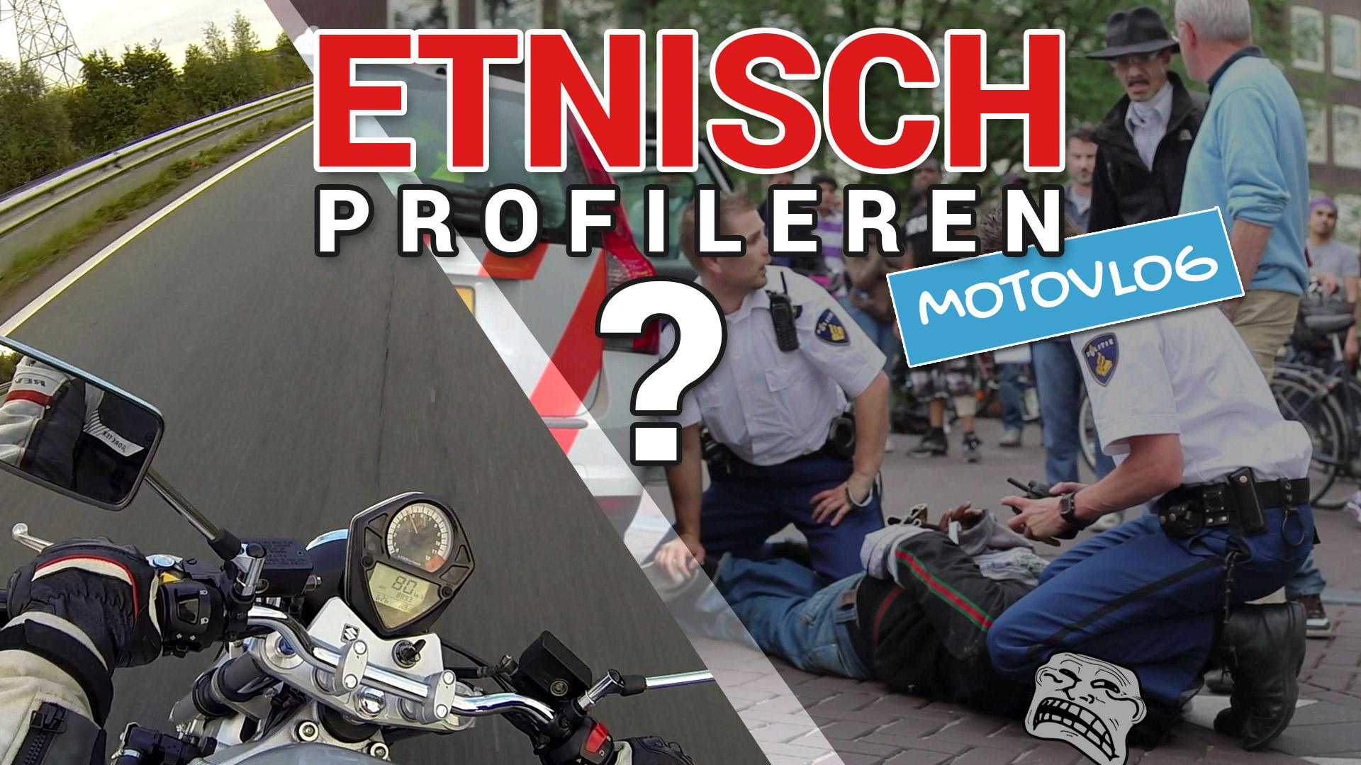 Motorrijder over etnisch profileren