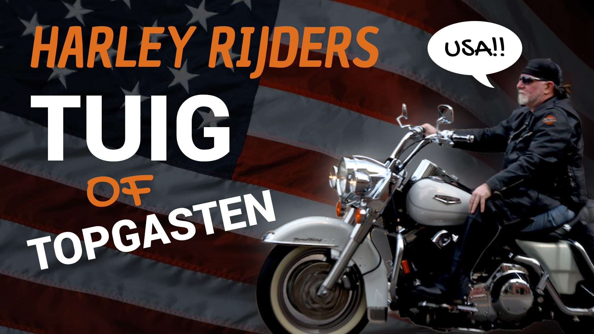 Harley rijders: Tuig of Topgasten?