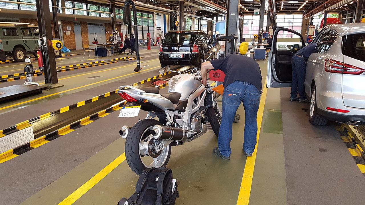 RDW Afspraak voor de motor