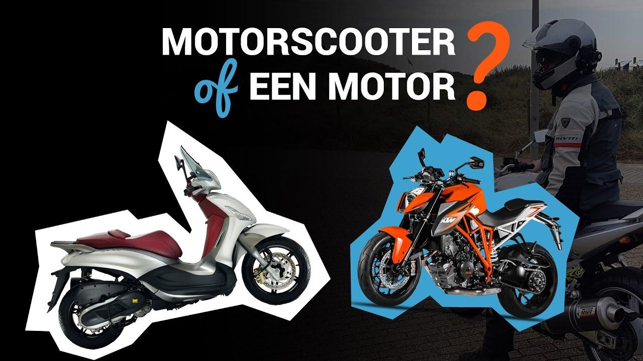 Motorscooter of Motofiets?