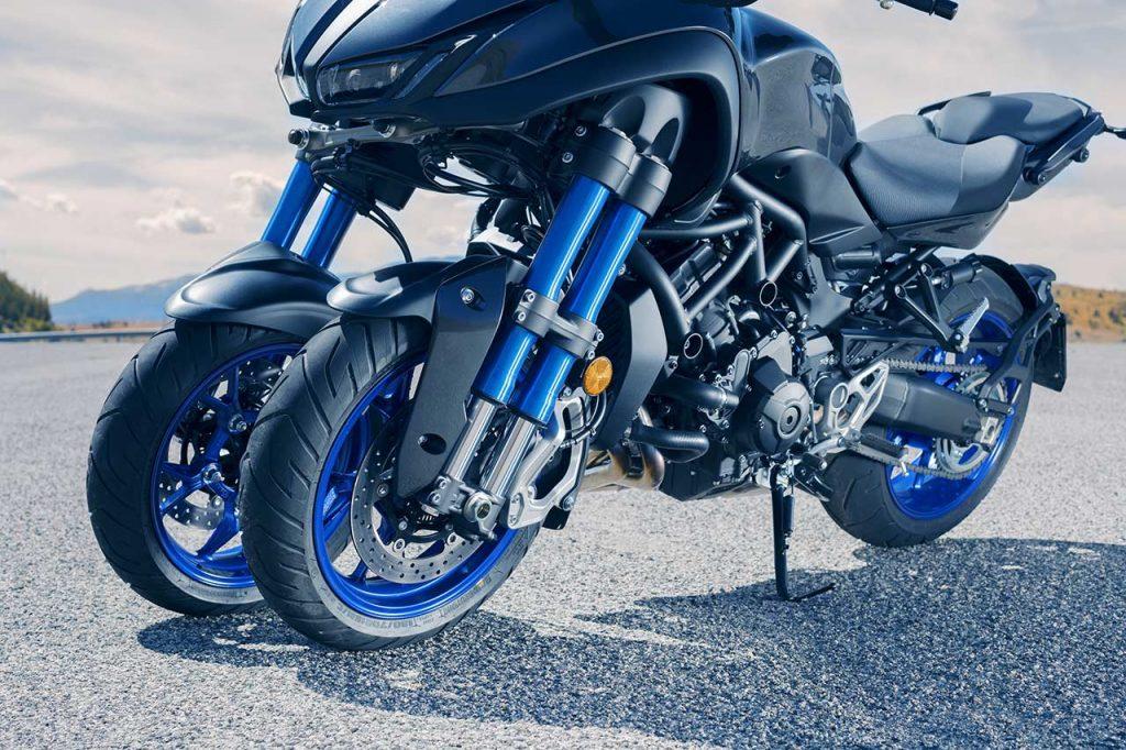 Yamaha Niken voorvorken