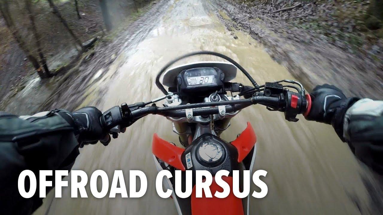 OFFROAD motorcursus in België | Endurofun Honda CRF250L Ervaring