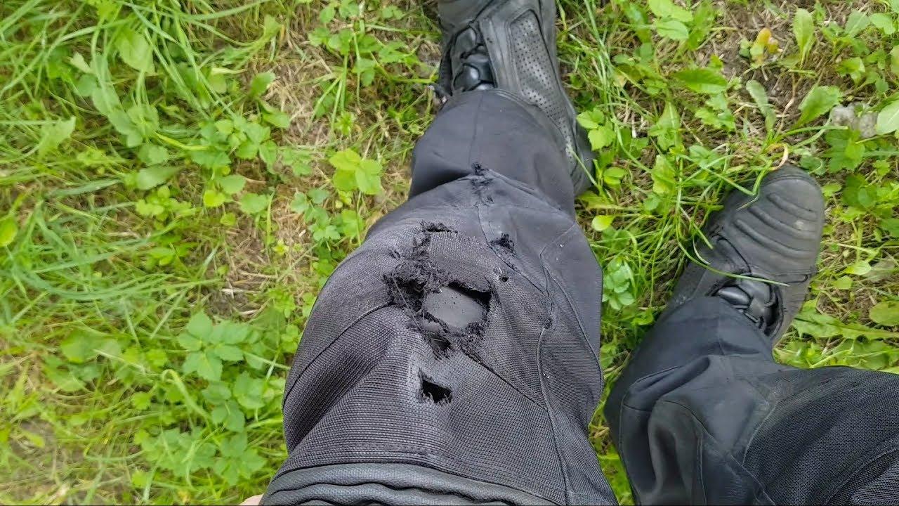 Wonden likken na mijn motorongeluk…