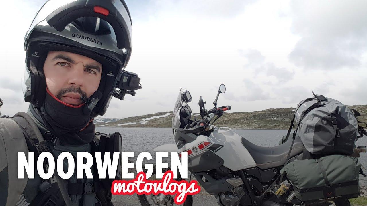 Motor avontuur in Noorwegen – Dag 2 | IJs, Kou en Regen