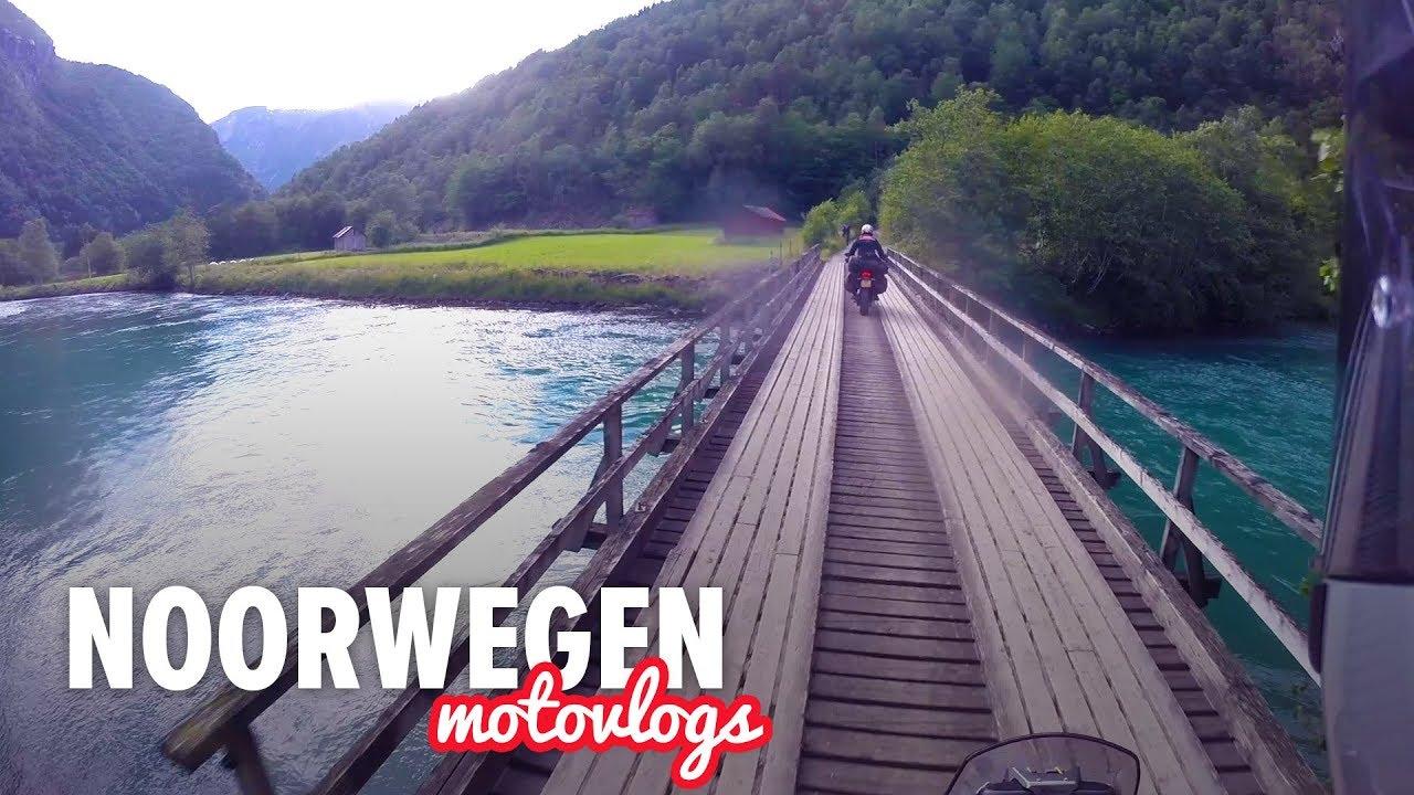 Motor avontuur in Noorwegen – Dag 4 | Eerste keer wildkamperen!