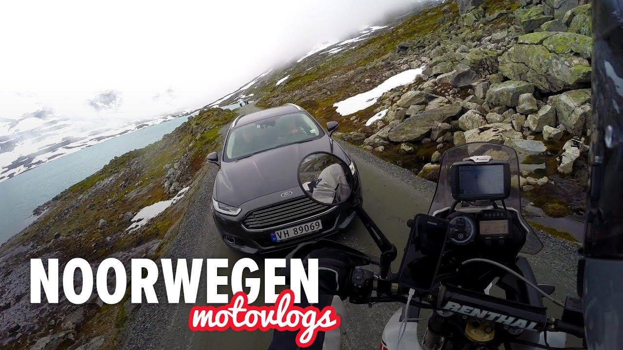 Motor avontuur in Noorwegen – Dag 5 | Sneeuwballen gooien!?