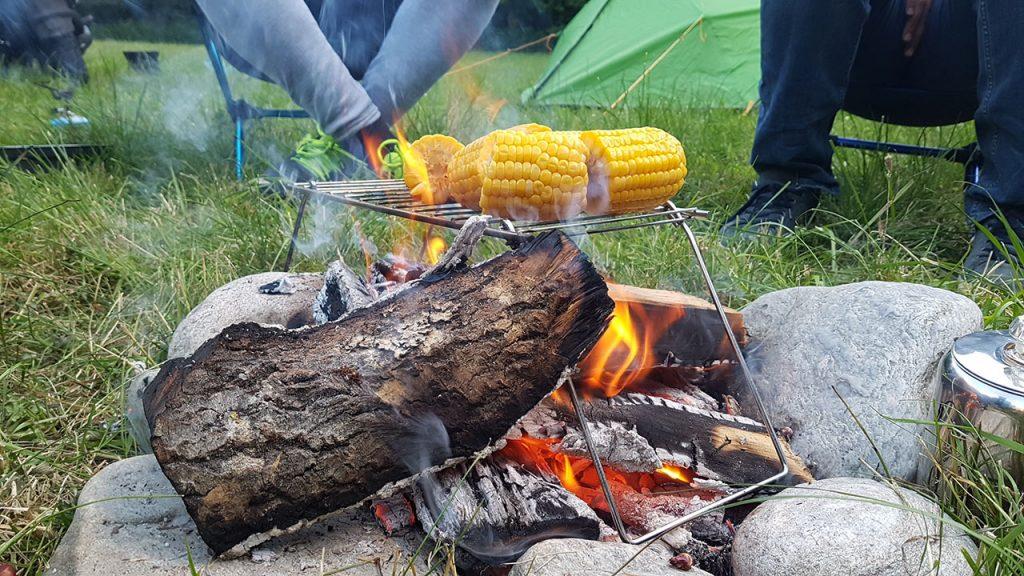 Zelf koken tijdens het kamperen in Noorwegen