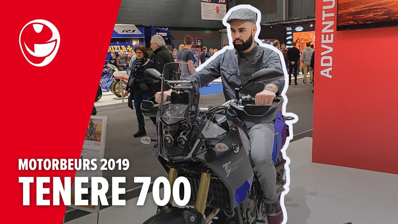 Yamaha Tenere 700 impressie op de Motorbeurs 2019