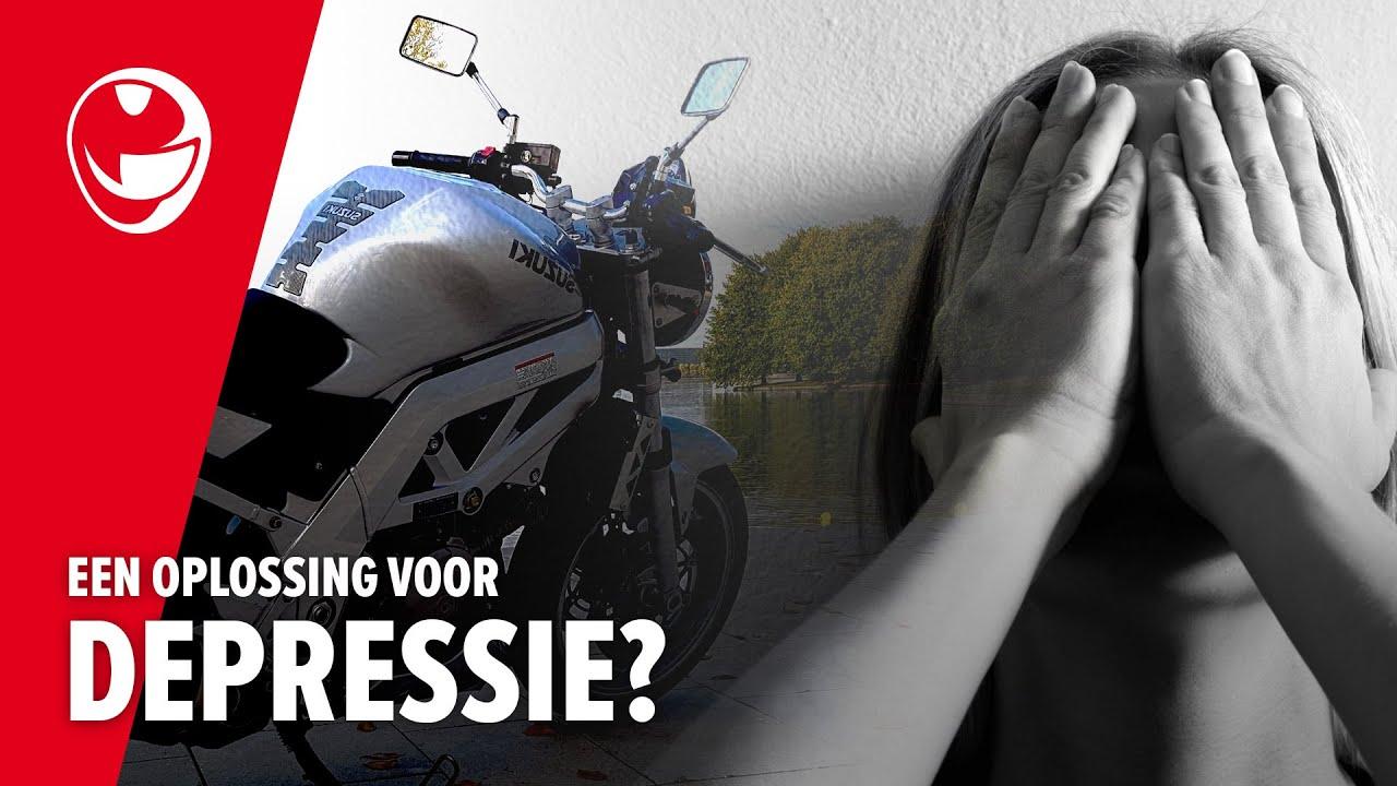 Motorrijden | Een oplossing voor depressie?!