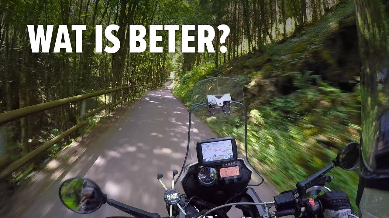 Alleen motorrijden of in een groep? Dit is wat ik vind!