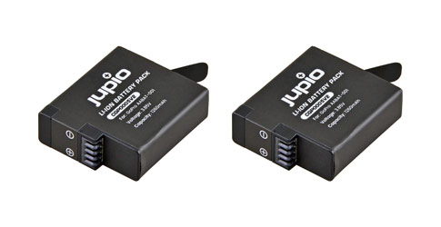 Extra GoPro batterijen (Hero 5, 6, 7)