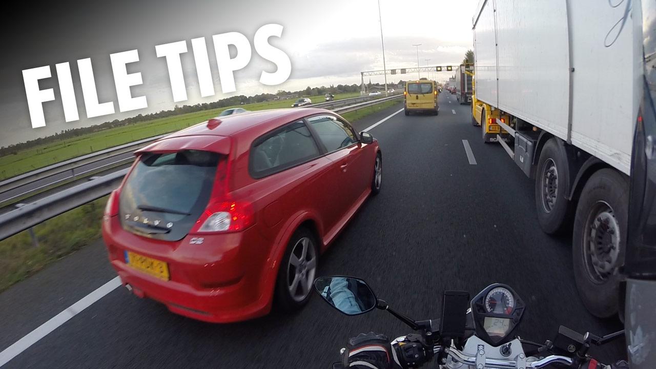 Tips voor Filerijden & Filteren op de Motor