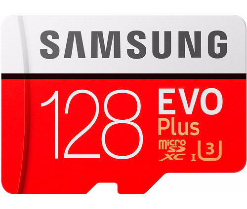 Samsung EVO Plus Micro SD kaart voor de GoPro