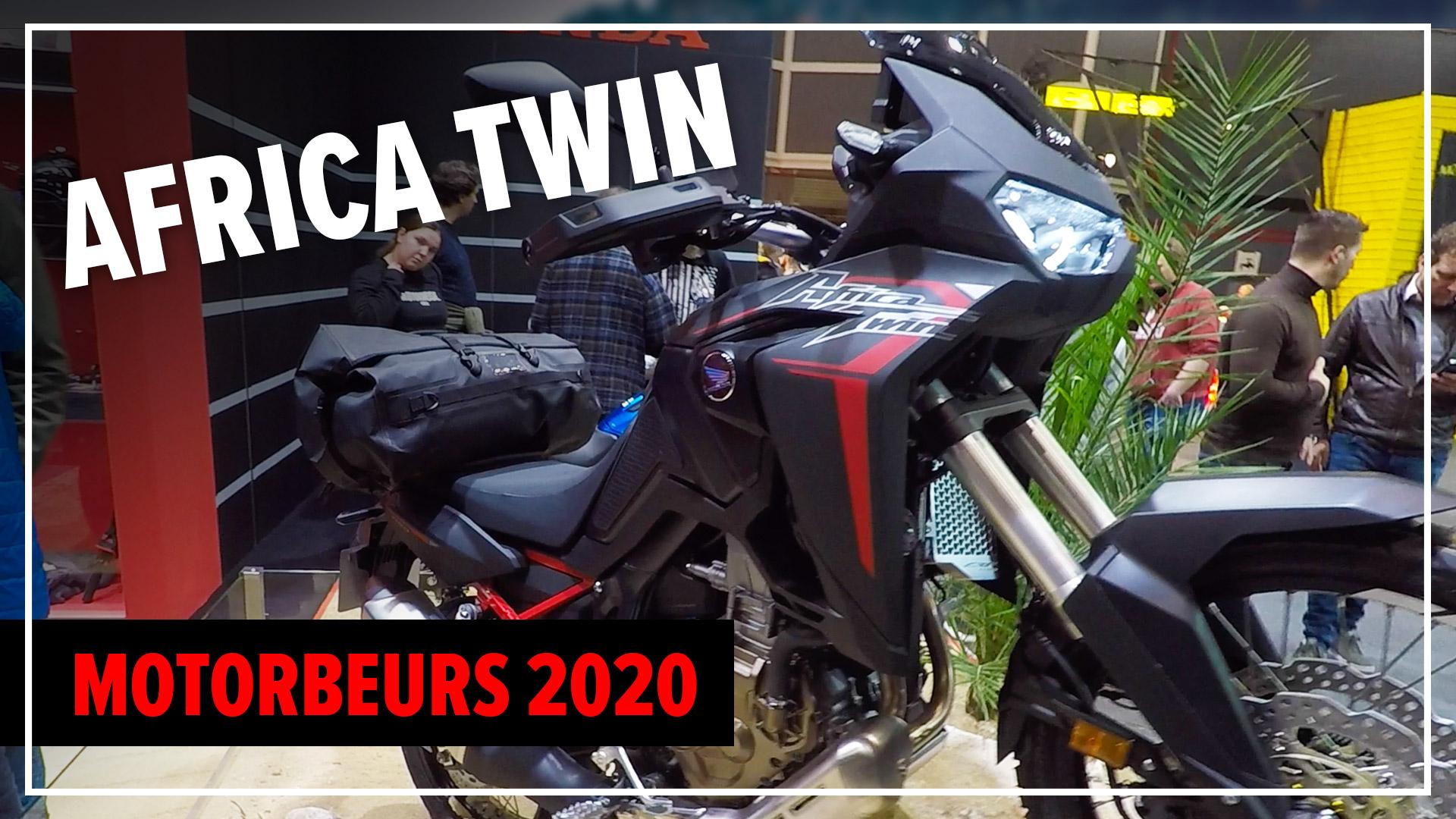 Africa Twin 1100 – Motorbeurs Utrecht 2020