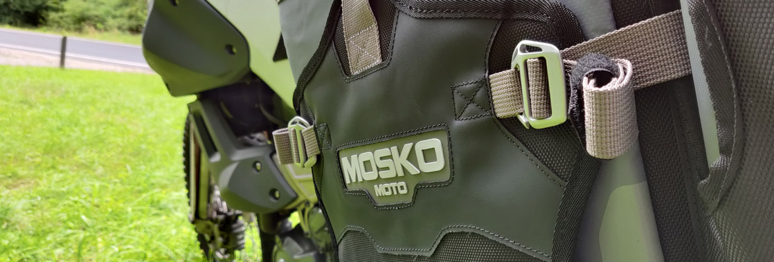 Mosko Moto Backcountry Panniers 25L